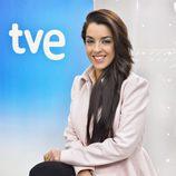 Ruth Lorenzo en la presentación de Eurovisión 2014