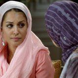 Hiba Abouk en el cuarto episodio de 'El Príncipe'