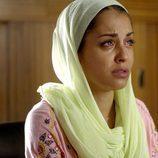 Hiba Abouk entre lágrimas en la cuarta entrega de 'El Príncipe'