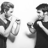 Ricardo Gómez y Pablo Rivero, actores de 'Cuéntame cómo pasó'