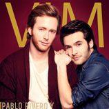 Ricardo Gómez y Pablo Rivero en la portada de la revista VIM Magazine