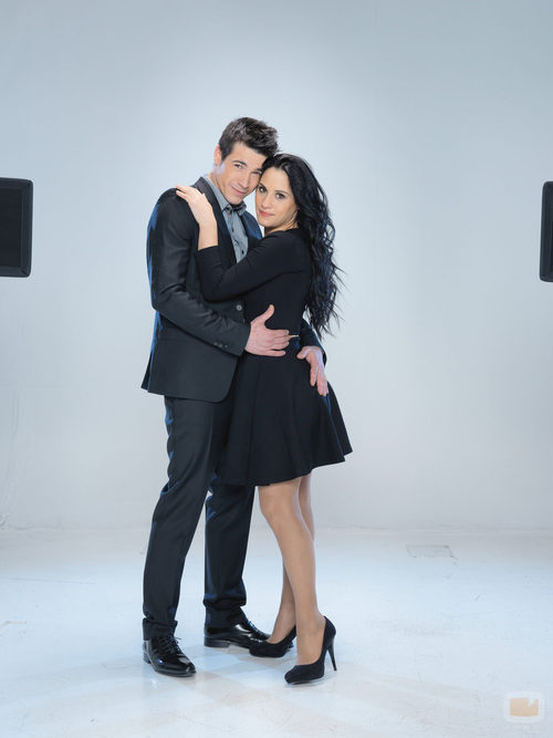 Juanjo Ballesta y Verónica Rebollo, concursantes de 'A bailar!'