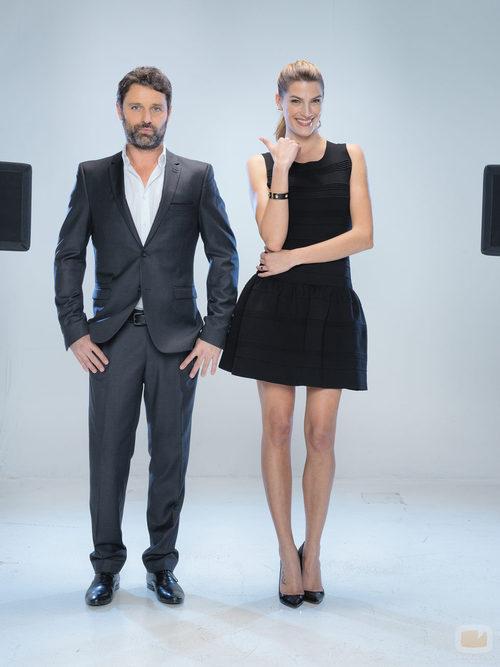 David Ascanio y Laura Sánchez, concursantes de 'A bailar!'
