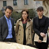 Martín, Laura y Lydia en 'Los misterios de Laura'