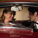 Marta Hazas y Javier Rey en el tercer capítulo de 'Velvet'