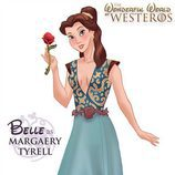 La princesa Bella como Maraery Tyrell, de 'Juego de tronos'