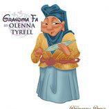 La abuela Fa como Olenna Tyrell, de 'Juego de tronos'