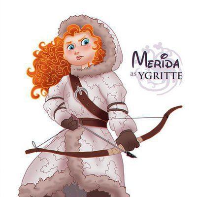 Princesas Disney como personajes de 'Juego de tronos'