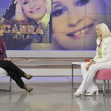María Teresa Campos entrevista a Raffaella Carrà en '¡Qué tiempo tan feliz!'