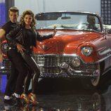 El Cordobés y Virginia Troconis en el primer programa de 'A bailar!'