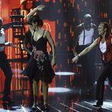 Pastora Vega y Juan Ribó en el primer programa de 'A bailar!'