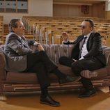 Iñaki Gabilondo junto a Risto Mejide en 'Viajando con Chester'