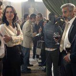 Imanol Arias junto con Ariadna Gil en el capítulo