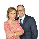 Elena Irureta y Joaquín Climent, actores de 'Ciega a citas'