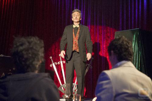David Fernández en 'Aída'