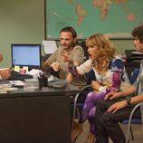 Fermín, Javi y Estela intentan socorrer a Lola en 'La que se avecina'