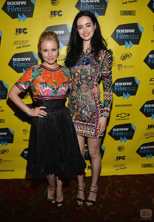 Kristen Bell y Krysten Ritter en el preestreno de 'Veronica Mars'