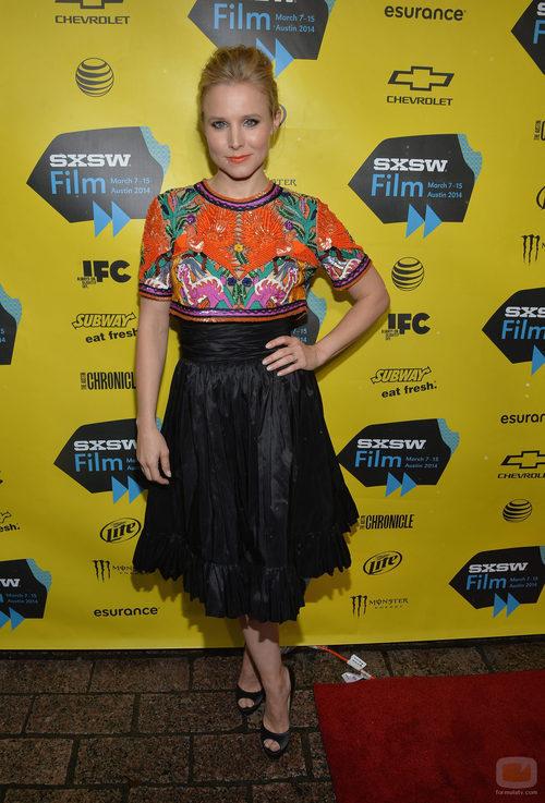 Kristen Bell en el preestreno de 'Veronica Mars'