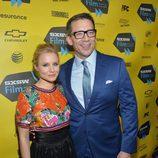 Kristen Bell y Rob Thomas en el preestreno de 'Veronica Mars'