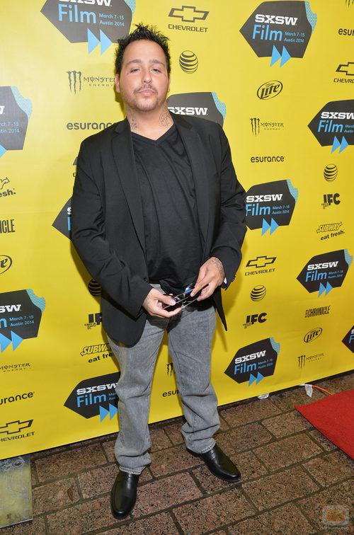 Francis Capra en el preestreno de 'Veronica Mars'