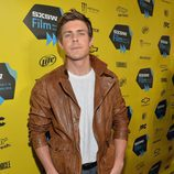 Chris Lowell en el preestreno de 'Veronica Mars'