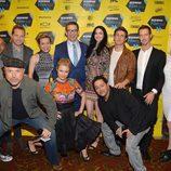 El equipo de 'Veronica Mars' en el preestreno de la película