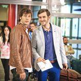 Ángel y Jorge en la tercera temporada de 'Con el culo al aire'