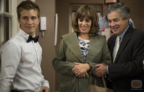 El matrimonio de Susana y César en 'B&b, de boca en boca'