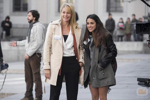 Candela y Sonia en 'B&b, de boca en boca'