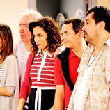 Sandra, Paulino, Sonsoles, José Luis y Tino en la tercera temporada de 'Con el culo al aire'