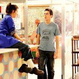 Lola y Dani en la tercera temporada de 'Con el culo al aire'