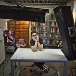 Berto Romero en la grabación de 'MovieBerto'
