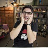 Berto Romero riéndose durante la grabación de 'MovieBerto'