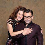 Raquel Sánchez Silva y Jorge Javier Vázquez, presentadores de 'Supervivientes 2014'