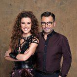 Jorge Javier Vázquez y Raquel Sánchez Silva en 'Supervivientes 2014'