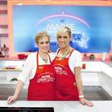 Luján Argüelles y su madre en 'Mi madre cocina mejor que la tuya'