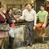 Macu, Mauricio y Fidel en la décima temporada de 'Aída'