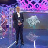 Jordi González en el plató de 'Hay una cosa que te quiero decir'