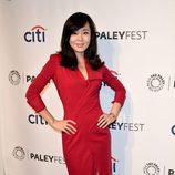 Yunjin Kim, Sun Kwon en 'Perdidos', en el PaleyFest 2014