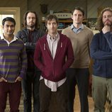 Los protagonistas de 'Silicon Valley'