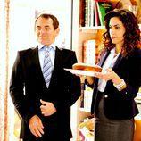 José Luis y Sonsoles con una tarta en 'Con el culo al aire'