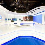 Nuevo plató del 'Telediario' de TVE