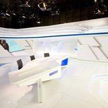 Plató renovado del 'Telediario' de Televisión Española