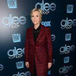Jane Lynch en la celebración del capítulo 100 de 'Glee'