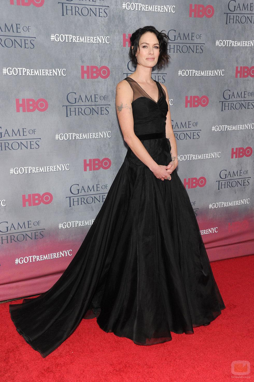 Lena Headey en la premiere de la cuarta temporada de 'Juego de tronos'