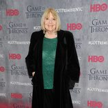 Diana Rigg en la premiere de la cuarta temporada de 'Juego de tronos'