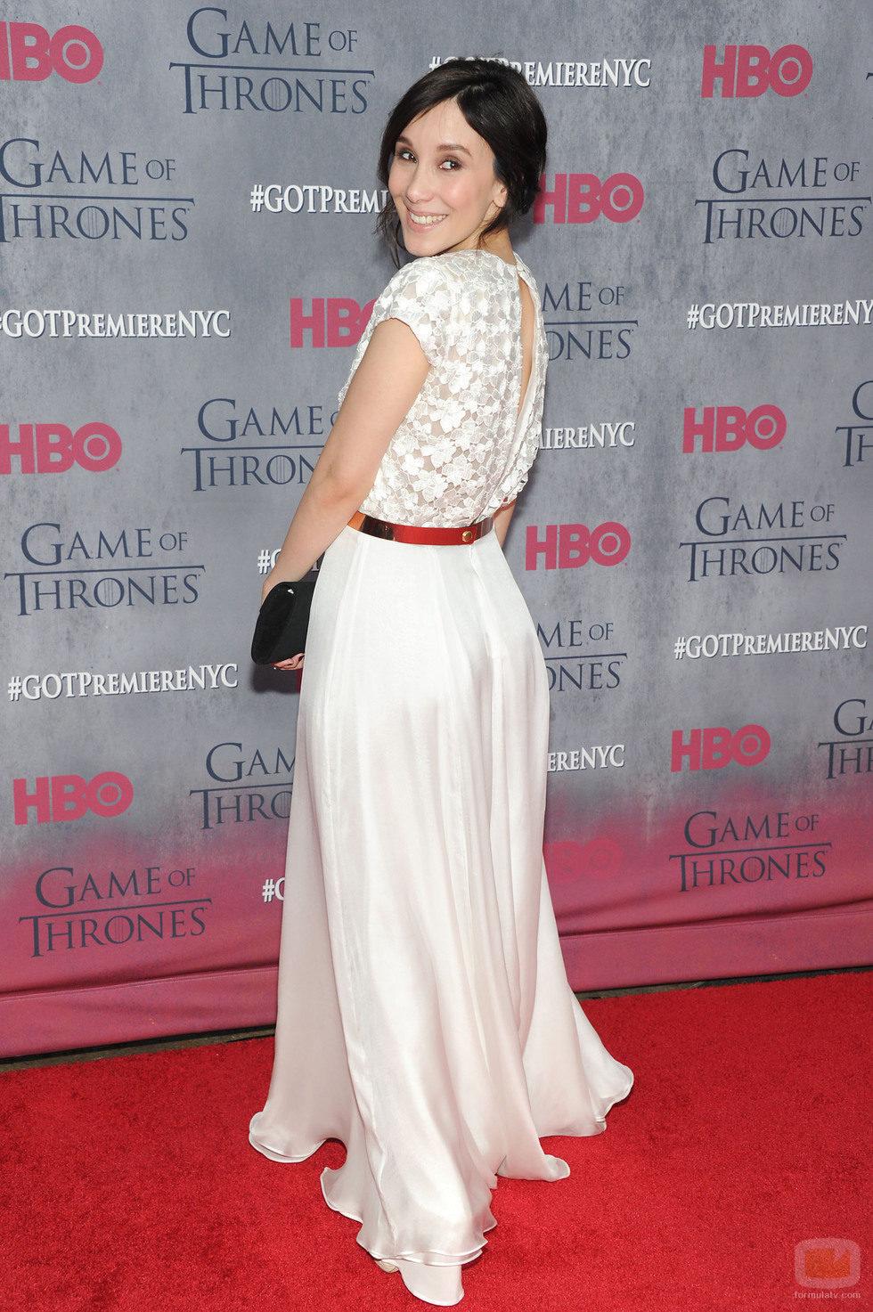 Sibel Kekilli en la premiere de la cuarta temporada de 'Juego de tronos'