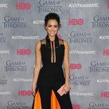 Nathalie Emmanuel en la premiere de la cuarta temporada de 'Juego de tronos'