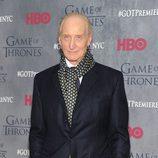 Charles Dance en la premiere de la cuarta temporada de 'Juego de tronos'