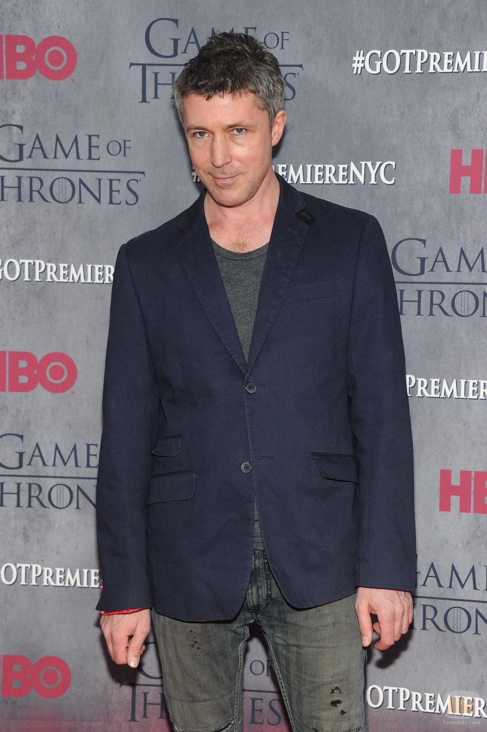 Aidan Gillen en la premiere de la cuarta temporada de 'Juego de tronos'